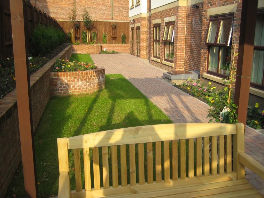 Picktree Court Rear Gardens